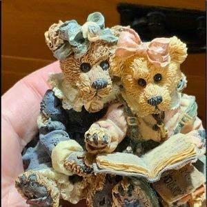 Boyds Bear Bailey & Becky Figurine